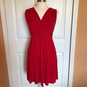 Adorable summer NWOT Spense red dress S